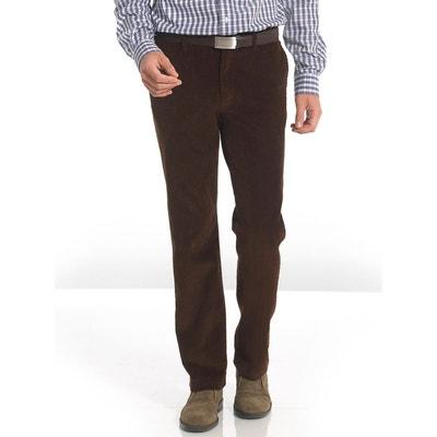 Redoute Homme Velours La Marron Pantalon Solde En qHFYwz