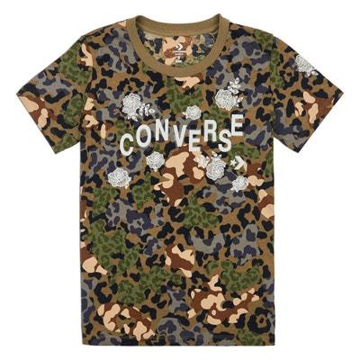 T-Shirt Logo mit rundem Ausschnitt T-Shirt Logo mit rundem Ausschnitt CONVERSE