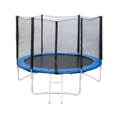 Trampoline Jump4Fun Deluxe 13FT 12 Perches Bleu JUMP4FUN