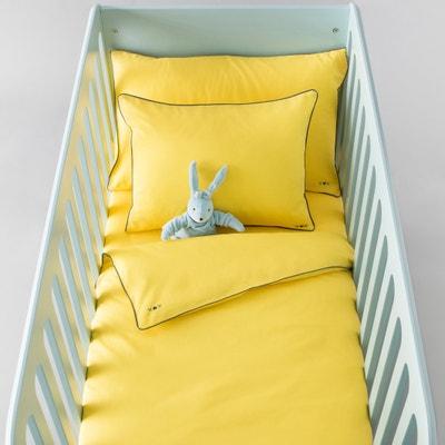 Capa de edredon para bebé, lisa, em algodão. Capa de edredon para bebé, lisa, em algodão. La Redoute Interieurs