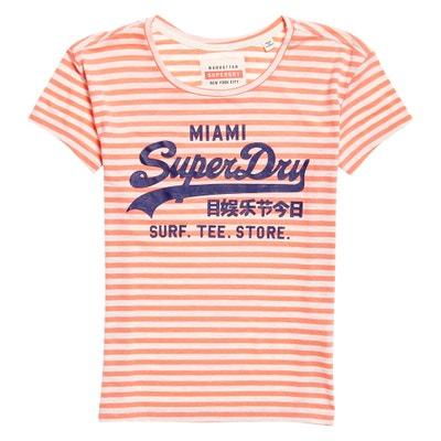 Short-Sleeved Crew Neck T-Shirt SUPERDRY