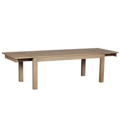 Table de repas extensible Manguier massif 200/290x100x78cm BOREAL CLAIR Table de repas extensible Manguier massif 200/290x100x78cm BOREAL CLAIR PIER IMPORT