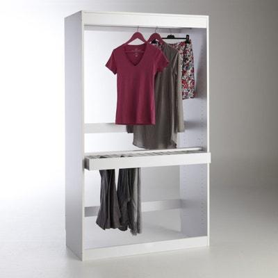 Module dressing, penderie + porte pantalons, Build Module dressing, penderie + porte pantalons, Build La Redoute Interieurs