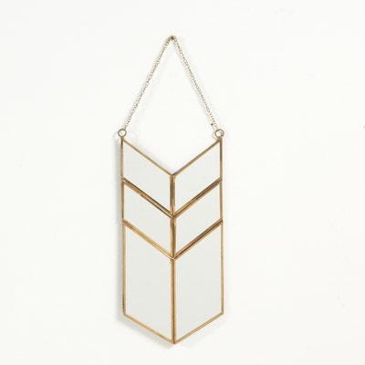 Specchio modello amuleto in metallo, Uyova Specchio modello amuleto in metallo, Uyova La Redoute Interieurs