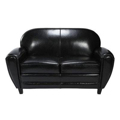 Canape cuir noir | La Redoute