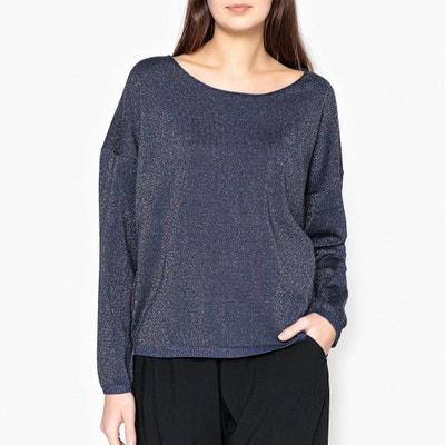 Pullover mir rundem Kragen und Knopfleiste hinten Pullover mir rundem Kragen und Knopfleiste hinten MARIE SIXTINE