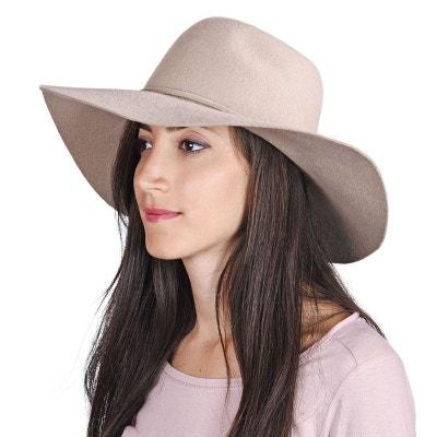 Chapeau femme laine Calia Beige - Made in Europe ALLEE DU FOULARD