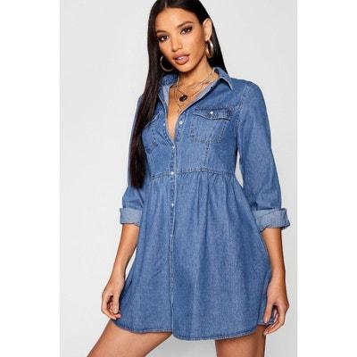 Robe en jean femme en solde   La Redoute 33593b6044c9