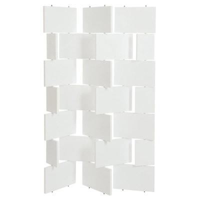 paravent bois blanc en solde la redoute. Black Bedroom Furniture Sets. Home Design Ideas