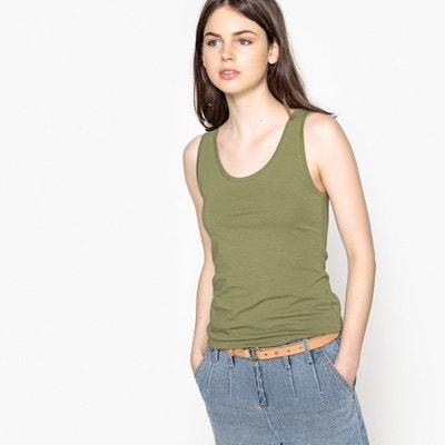 T-shirt sans manches uni T-shirt sans manches uni La Redoute Collections