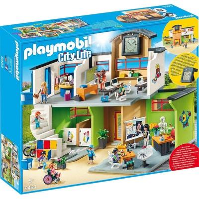 PLAYMOBIL 9453 City Life - École complètement aménagée PLAYMOBIL