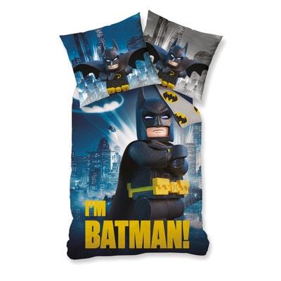 Parure imprimée, pur coton, Batman Lego Parure imprimée, pur coton, Batman Lego BATMAN