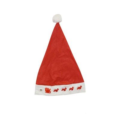 Bonnet de Noël Lumineux Bonnet de Noël Lumineux RUBIE'S