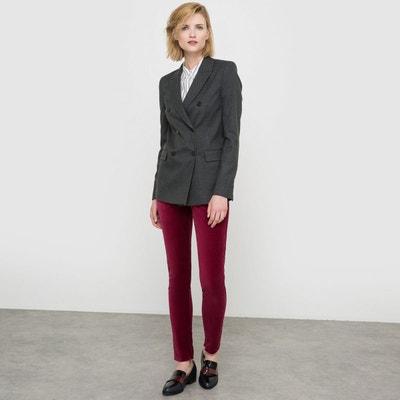 Veste tailleur cintree femme pas cher