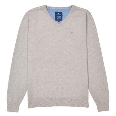 V-Neck Fine Gauge Knit Jumper/Sweater V-Neck Fine Gauge Knit Jumper/Sweater TOM TAILOR
