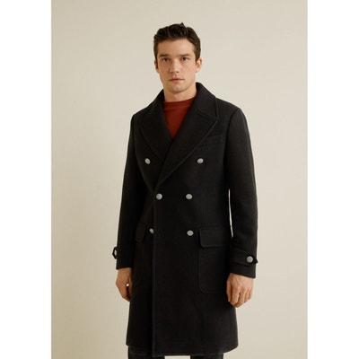 210a0f875b0f3 Manteau en laine à double boutonnage Manteau en laine à double boutonnage MANGO  MAN