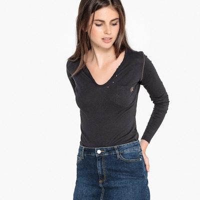 Camiseta con cuello redondo, de manga larga Camiseta con cuello redondo, de manga larga KAPORAL 5