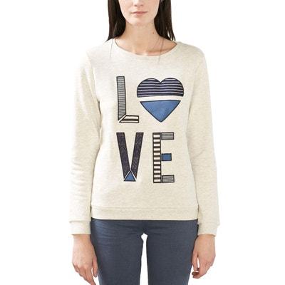 Love Embroidered Sweatshirt ESPRIT