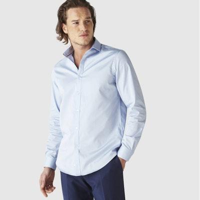 Рубашка прямого покроя SHARANI из хлопкового сатина Рубашка прямого покроя SHARANI из хлопкового сатина CELIO