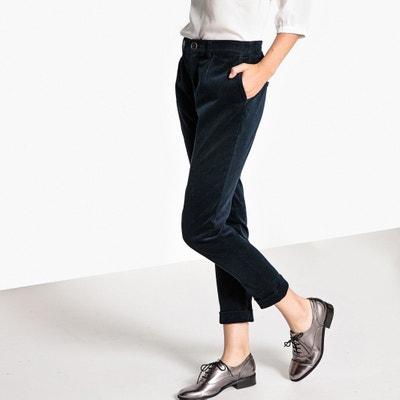 Corduroy Cigarette Trousers, Length 28.5