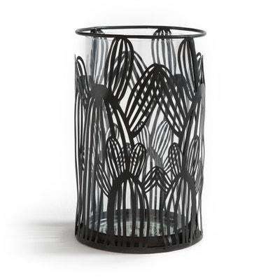 Lanterna cactus in vetro e metallo, DORIO Lanterna cactus in vetro e metallo, DORIO La Redoute Interieurs