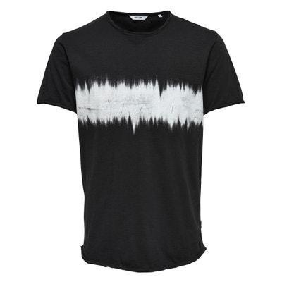 Printed Short-Sleeved Crew Neck T-Shirt Printed Short-Sleeved Crew Neck T-Shirt ONLY & SONS