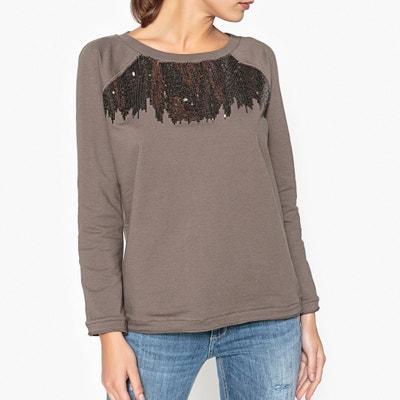 Long-Sleeved Sequin Sweatshirt LIU JO