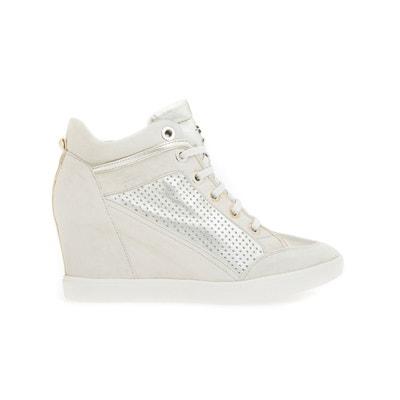 "Hohe Sneakers mit Schnürsenkeln ""D Eleni C"" Hohe Sneakers mit Schnürsenkeln ""D Eleni C"" GEOX"