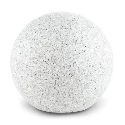 Shinestone S Lampe de jardin ronde 20cm Style pierre Shinestone S Lampe de jardin ronde 20cm Style pierre LIGHTCRAFT