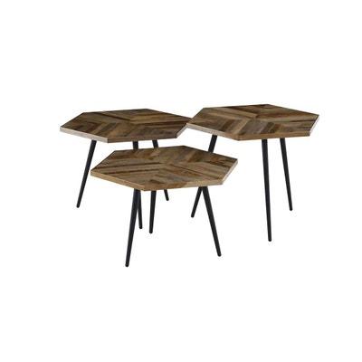 Table Gigogne Metal Noir En Solde La Redoute