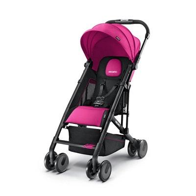 Poussette Easylife Pink Black Frame - Recaro RECARO