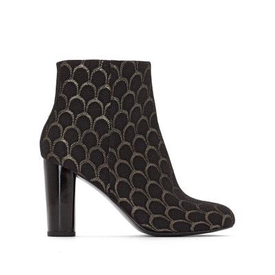 Boots jacquard tacco alto MADEMOISELLE R