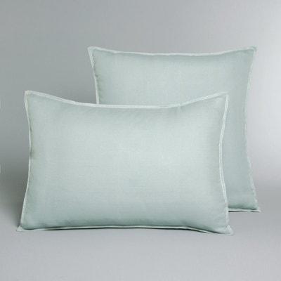 HELM Single Pillowcase In Faded Hemp Fabric AM.PM.
