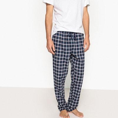 Pantalon de pyjama à carreaux en flanelle Pantalon de pyjama à carreaux en flanelle LA REDOUTE COLLECTIONS