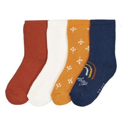 Set van 4 paar sokken, 15/18-23/26 Set van 4 paar sokken, 15/18-23/26 La Redoute Collections