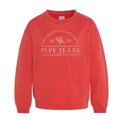 a05b4972056e0 Sweat fille - Vêtements enfant 3-16 ans Pepe jeans en solde   La Redoute