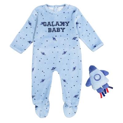 Pijama con doudou 0 meses - 3 años Pijama con doudou 0 meses - 3 años La Redoute Collections