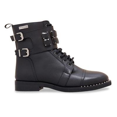 Ботинки кожаные Zanzi Ботинки кожаные Zanzi LES TROPEZIENNES PAR M.BELARBI