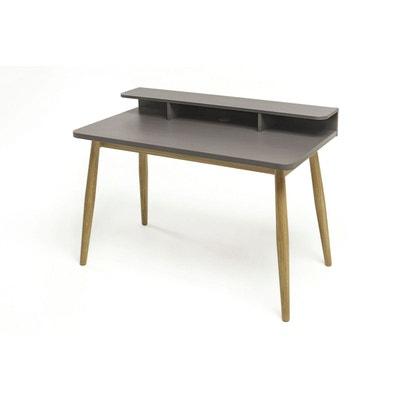 Bureau scandinave en bois gris Farsta - Woodman WOODMAN