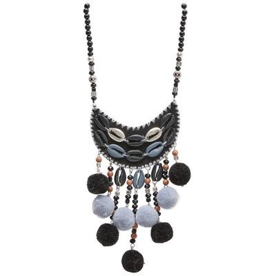 Collier Perle Noire En Solde La Redoute