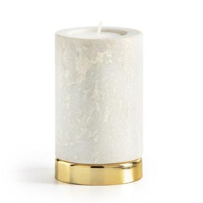 Bougeoir en marbre, FITIA Bougeoir en marbre, FITIA LA REDOUTE INTERIEURS