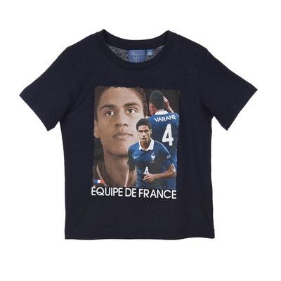 T-shirt FFF Varane Bleu Junior T-shirt FFF Varane Bleu Junior MADE IN SPORT