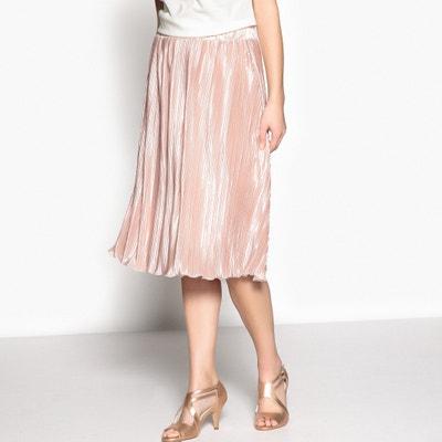Pleated Lamé Skirt ANNE WEYBURN