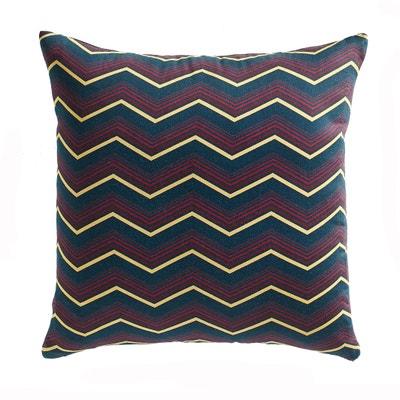 Federa per cuscino satin di cotone fantasia, Slinky La Redoute Interieurs