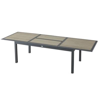 table de jardin extensible la redoute. Black Bedroom Furniture Sets. Home Design Ideas