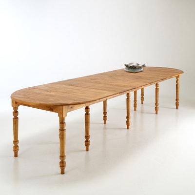 Mesa redonda, 4 a 16 pessoas, Authentic Style La Redoute Interieurs