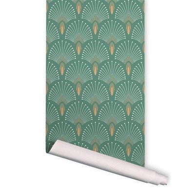 Papier Peint Vert La Redoute