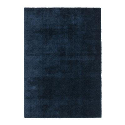 tapis mlleux en microfibre cirillo tapis mlleux en microfibre cirillo la redoute interieurs - Tapis Bleu Marine