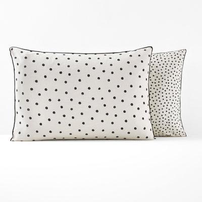 Lison Washed Cotton Pillowcase Lison Washed Cotton Pillowcase La Redoute Interieurs