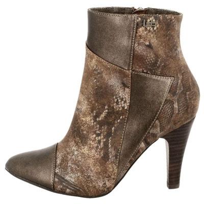 Bottines   simili cuir  bronze Lpb Shoes  La Redoute